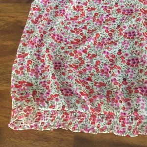 Old Navy Tops - Women's Sheer Floral Tank Blouse Size XL
